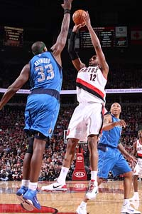Mavericks V. Blazers