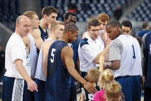 Butler Team Huddle