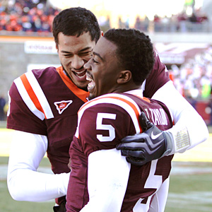 Logan Thomas and Tyrod Taylor
