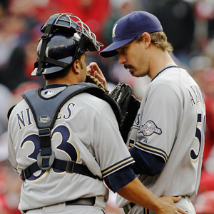 Wil Nieves and John Axford
