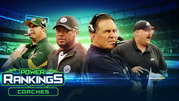 NFL Power Rankings: Coaches