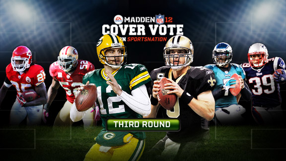Madden 12 Cover Vote