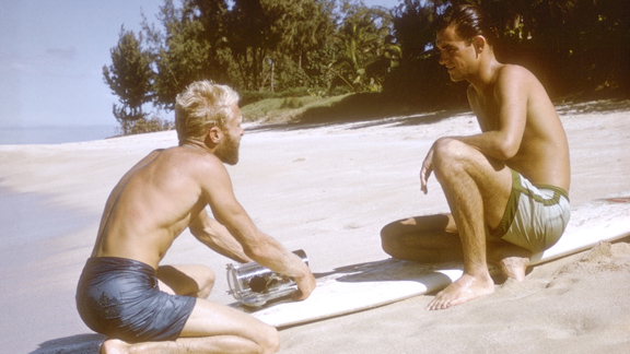 Bruce Brown to Robert August: Hey Robert, let's get some footy for the new Real Surf X Games event.