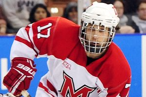 Character Counts: Miami's Andy Miele Wins 31st Annual Hobey Baker Award