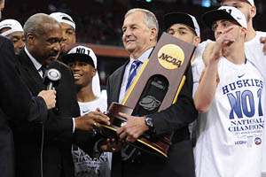 Jim Calhoun & Gene Smith