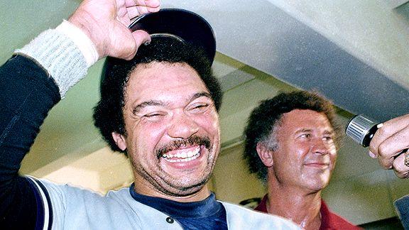 Reggie Jackson with the New York Yankees
