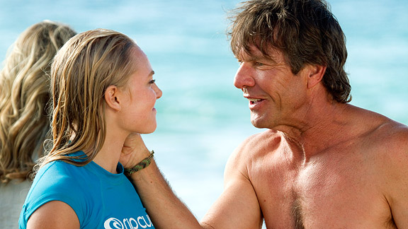 dennis quaid and anna sophia robb Noah Hamilton Dennis Quaid and Anna Sophia ...