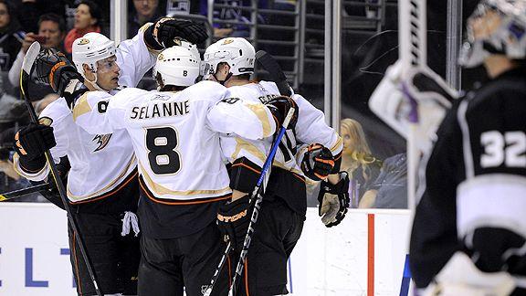 Anaheim Ducks celebrate