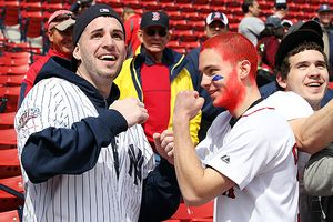 Yankees and Red Sox fans