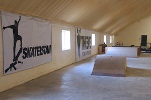 With support from various local and international donors as well as the Afghanistan National Olympic Committee, Skateistan moved into its first indoor facility in October 2009.