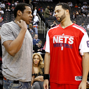 Deron Williams and Jay-Z