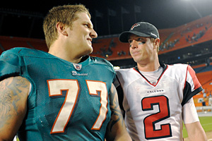 Jake Long and Matt Ryan