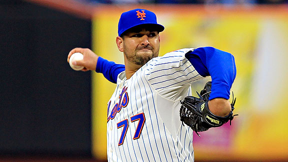 Mets Recall D.J. Carrasco, Demote Dale Thayer