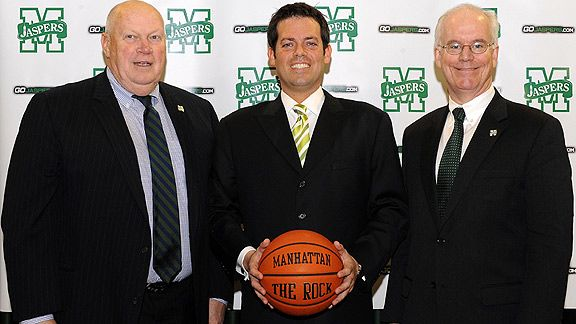 Bob Byrnes, Steve Masiello and Dr. Brennan O'Donnell