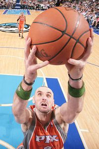 Glenn James/NBAE/Getty Images Marcin Gortat averaged 14.8 points, 10.8