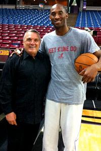 Rudy Ruettiger & Kobe Bryant