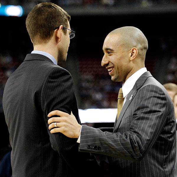 AP Photo/Eric Gay Brad Stevens and Shaka Smart coached in this year's Final ...