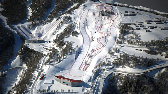 Sochi 2014 Rosa Khutor Freestyle Skiing Snowboard Park Plans