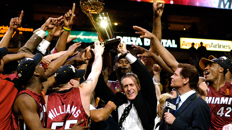 Pat Riley Finals Trophy