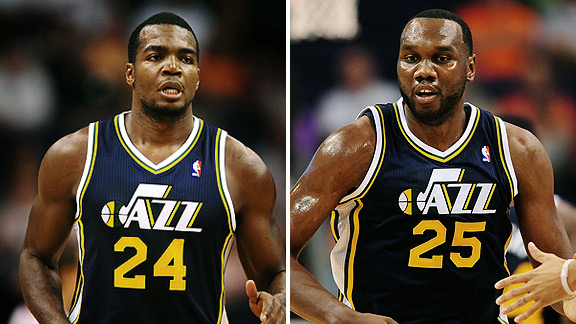 Paul Millsap & Al Jefferson