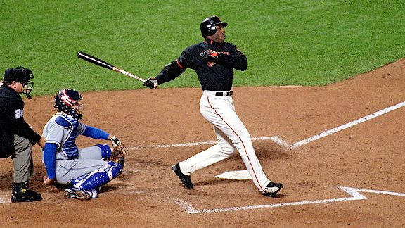 Barry Bonds Gigantes