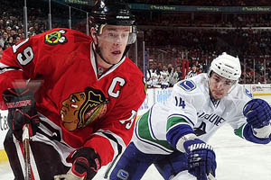 Blackhawks V. Canucks
