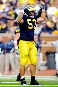 Michigan's Ryan Van Bergen
