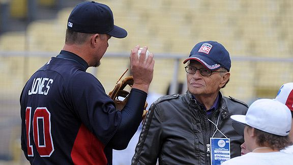 Chipper Jones & Larry King
