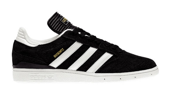 The Busenitz pro model from Adidas Skateboarding is a functional skate shoe  with soccer shoe inspiration 4446dd653