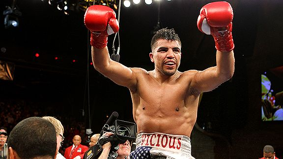 Victor Ortiz is a professional boxer from Garden City, Kansas, and former WBC world welterweight champion.