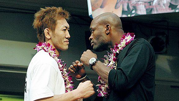 Yushin Okami vs  Anderson Silva