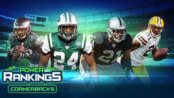 NFL Power Rankings: Cornerbacks