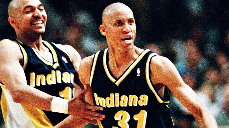 Mark Jackson and Reggie Miller
