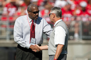 Gene Smith and Jim Tressel