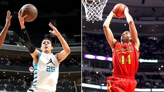 ... Rivers (Duke) y James McAdoo (UNC) como posibles picks de draft 2012