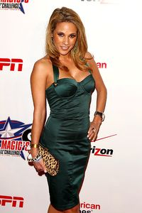 Joe Scarnici/Getty Images Here's a photo of Bonnie-Jill Laflin. You'll need to go to the PETA site to see her other photo.