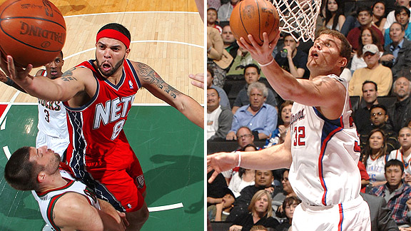 Derron Williams/Blake Griffin