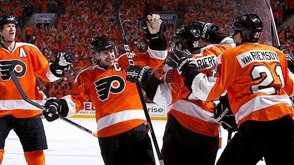 Flyers V. Sabres