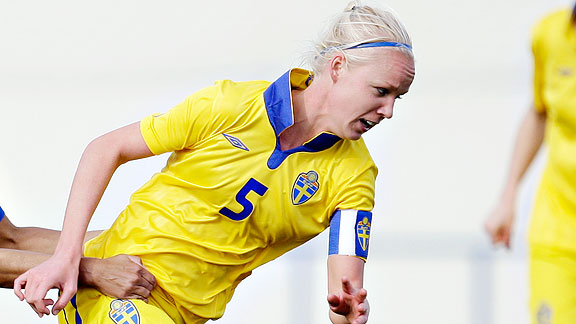 Caroline Seger is set to reunite with her Swedish National Team to make final preparations for the Women's World Cup.