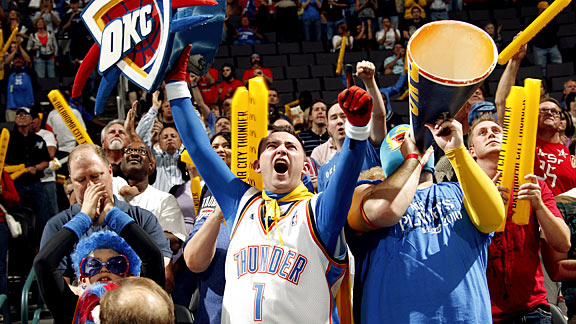 OKC Thunder Fan