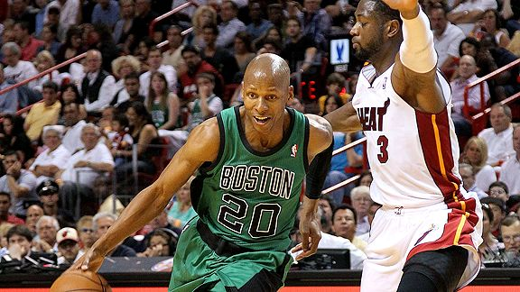 Ray Allen and Dwyane Wade