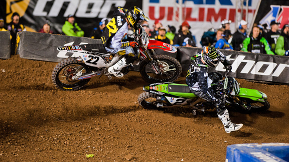 Monster Energy AMA Supercross headed to Salt Lake City, Utah, this weekend. Ryan Villopoto took the win ahead of Chad Reed and Ryan Dungey.