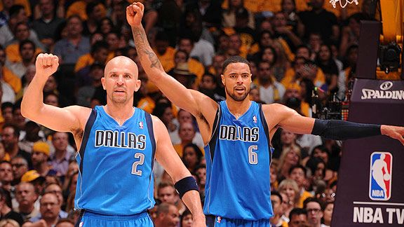 Tyson Chandler & Jason Kidd