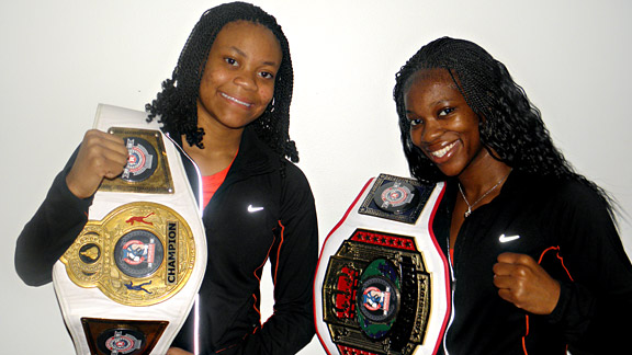 Monaya Patterson and LaTonya King