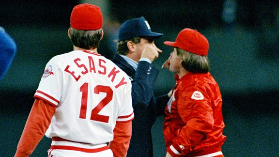 Dave Pallone, Pete Rose