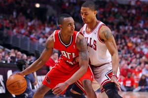 Jeff Teague & Derrick Rose