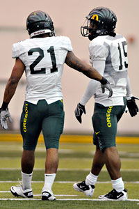 LaMichael James & Lache Seastruck