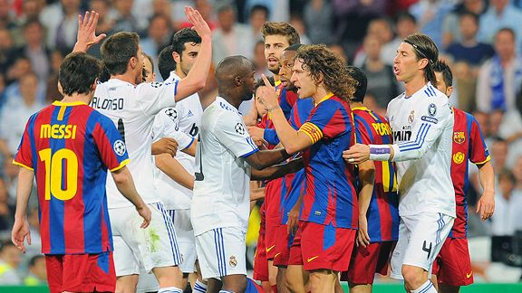 Real Madrid and and Barcelona