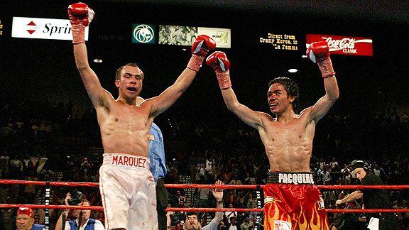 Juan Manuel Marquez & Manny Pacquiao,
