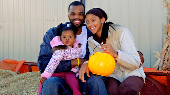 Candace Parker with Family